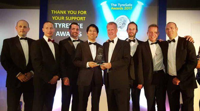 横浜ゴムの英国タイヤ販売会社、タイヤ安全啓発活動でW受賞