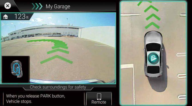 日立オートモティブ、周辺環境を記憶する自動駐車技術「パーク・バイ・メモリ」を開発