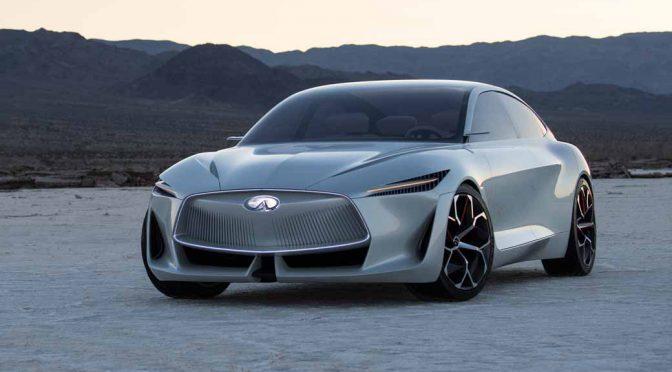 インフィニティ、初の100%電気自動車(EV)を2021年に発売