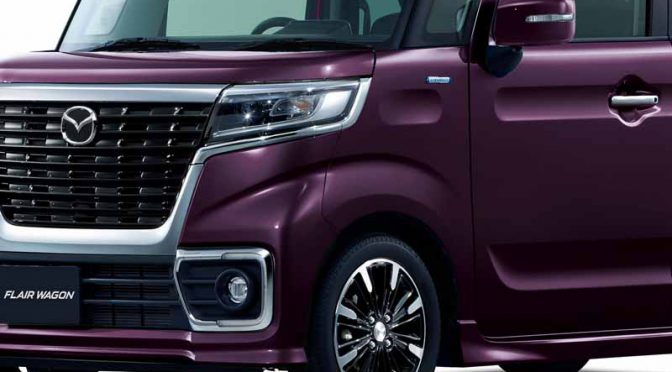 マツダ、新型フレアワゴン・同カスタムスタイルを2月8日発表