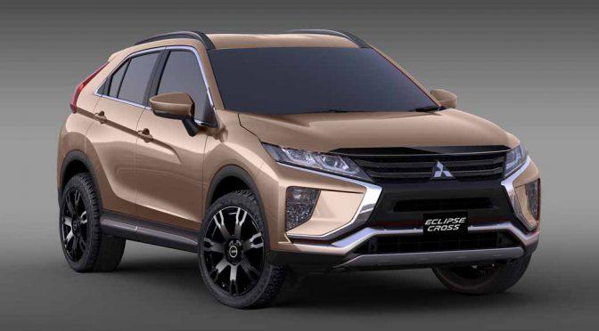 三菱自動車、東京オートサロンに新エクリプスクロスのカスタムカーを参考出品