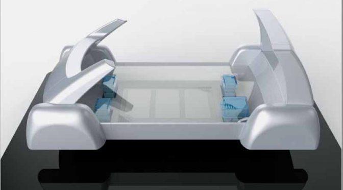 パナソニック、未来のモビリティ社会を見据えた小型EVプラットフォーム環境を提案