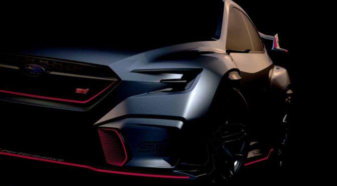 SUBARUとSTI、東京オートサロン2018でコンセプトカーを出展