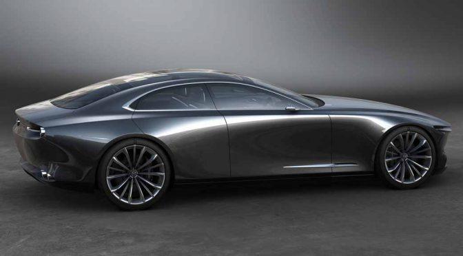 マツダ、ビジョン・クーペがフランスで「最も美しいコンセプトカー」に選ばれる