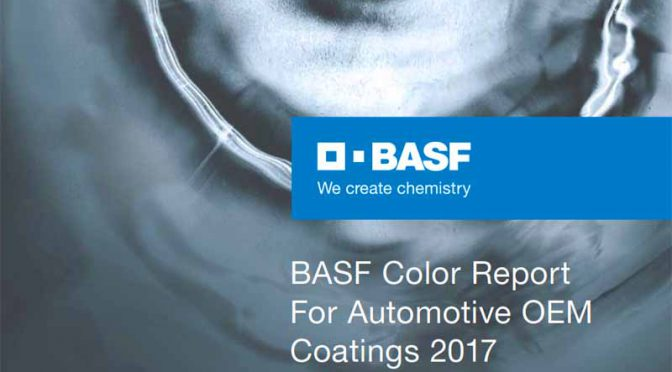 BASF、2017年の自動車のカラーマーケットを分析