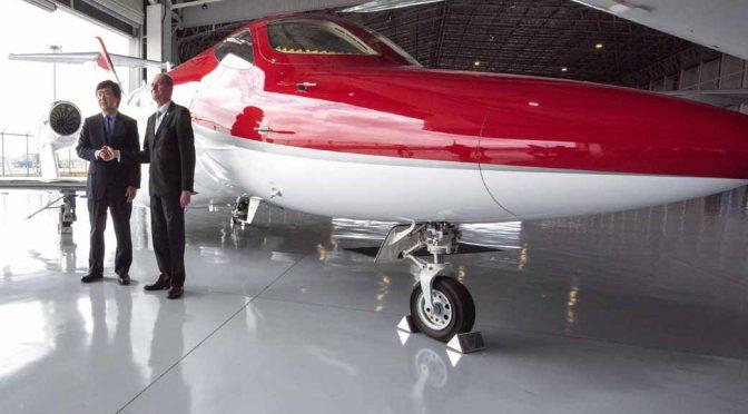 Honda Jetの販売で、エアタクシーサービス提供会社のWijet社と基本合意