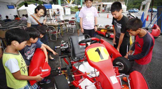 日本EVクラブ、親子電気レーシングカート組立体験会を3月に実施