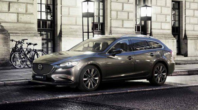 マツダ、ジュネーブで商品改良した「Mazda6」ワゴンを世界初公開