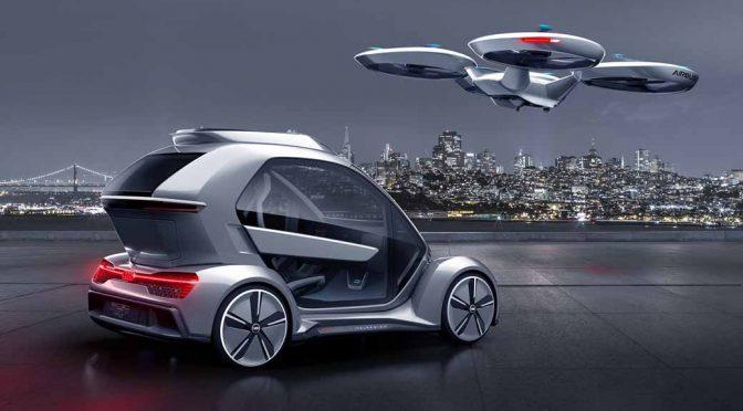 アウディ、イタルデザイン&エアバスと共に空飛ぶ自動運転車のコンセプトを新提案