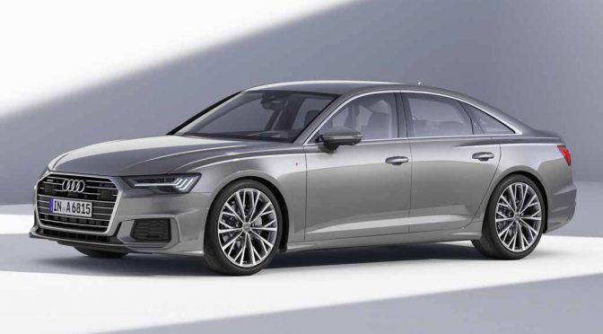 アウディの新型A6セダン、6月からドイツ本国で販売開始