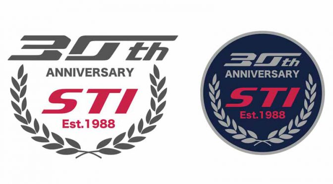 STI「創立30周年記念ロゴ」制定、NY国際オートショーで発表