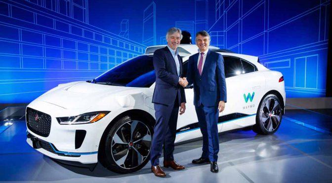 ジャガー、グーグル陣営へ自動運転車2万台を提供