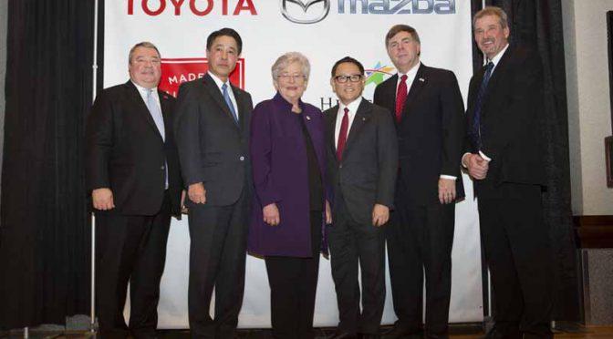 マツダとトヨタ、米合弁新会社を設立。16億ドルを投資し21年・30万台の生産拠点建設へ加速