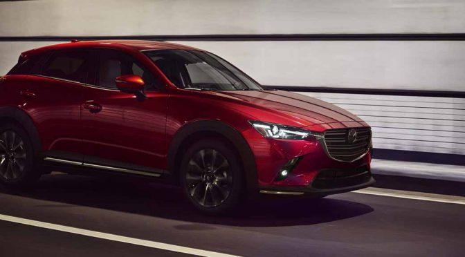 マツダ、商品改良を施した「CX-3」をNYモーターショーで初披露