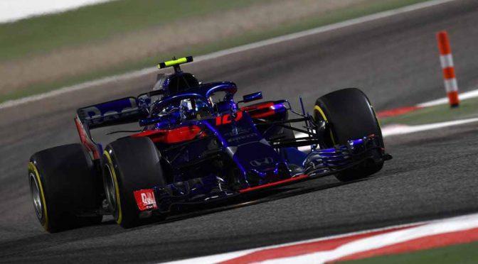 F1バーレーンGP、ベッテル開幕2連勝。トロ・ロッソ・ホンダのガスリーが4位に食い込む