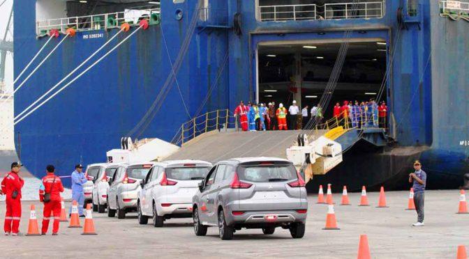 三菱自動車工業、インドネシアからエクスパンダーの輸出を開始