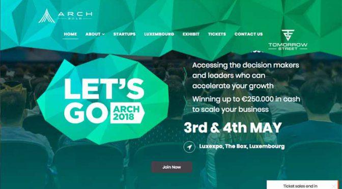 ルクセンブルクでテックイベント「ARCH SUMMIT2018」5月開催