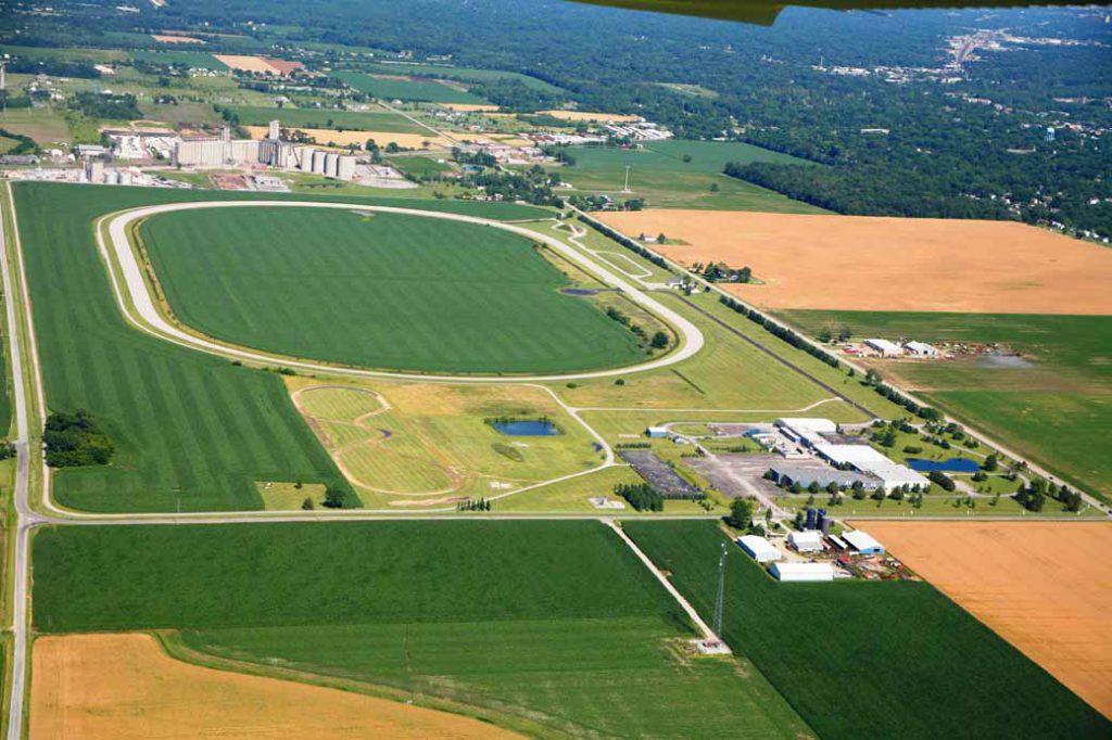 新設される施設は、MITRPのテスト施設内(楕円形のコース内)に建設される予定となっている。