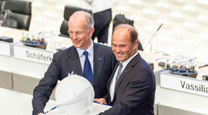 BASF、取締役会会長にブルーダーミュラー氏が正式就任