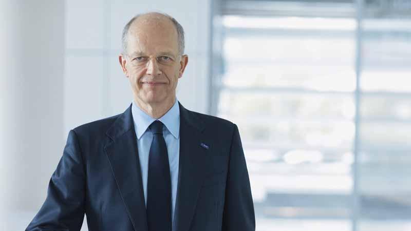 取締役会会長を退任したDr.クルト・ボック氏(Dr. Kurt Bock・60歳)。