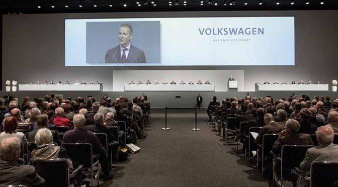 独VWディース新CEO、年次株主総会で業界リーダーへの返り咲き宣言