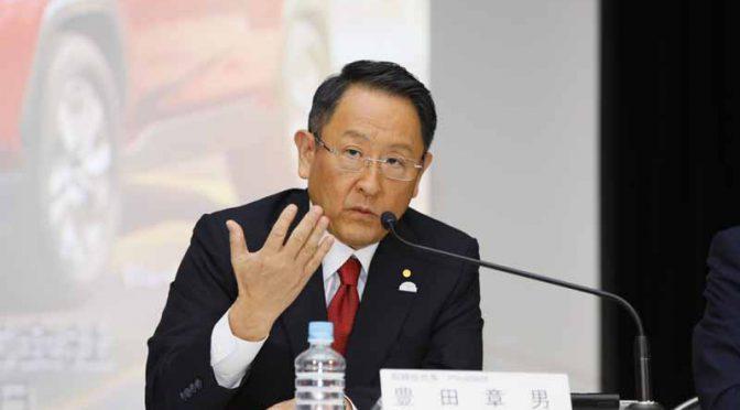 トヨタ自動車の18年3月期決算説明会、豊田章男社長のスピーチ内容