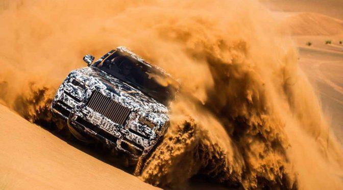 ロールス・ロイス、新型SUVカリナンをライブストリーミングで世界公開