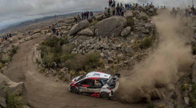 トヨタ・ヤリス、WRCラリーアルゼンティーナで今季初優勝