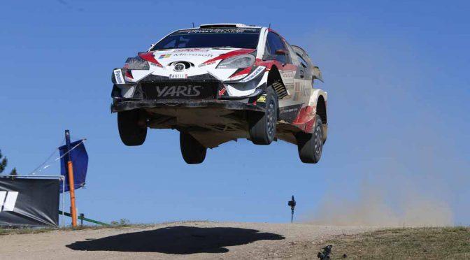 WRC第7戦ラリー・イタリア、トヨタのラッピが今季初の表彰台3位