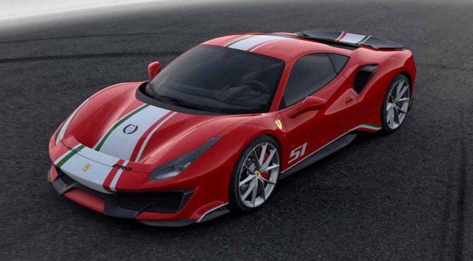 フェラーリ、WEC世界耐久選手権カラーの488Pistaを公開