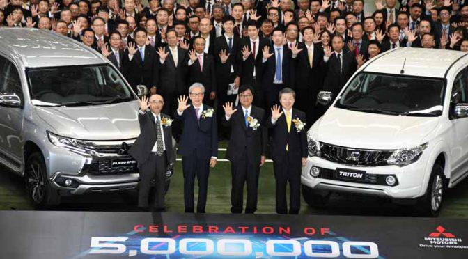ミツビシ・モーターズ・タイランド、累計生産台数500万台