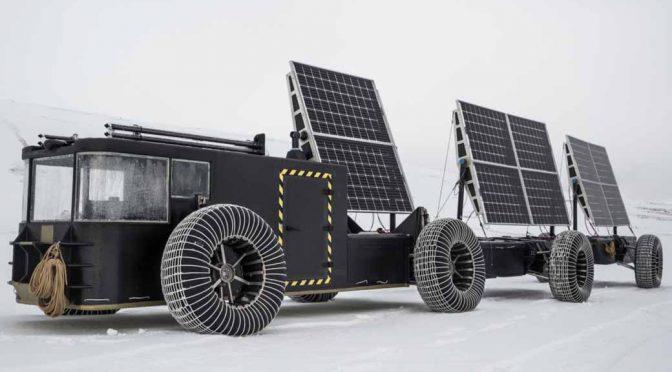 帝人、ソーラーカーでの南極点到達プロジェクトを支援
