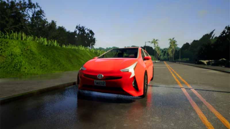 CARLA シミュレーション画面イメージ