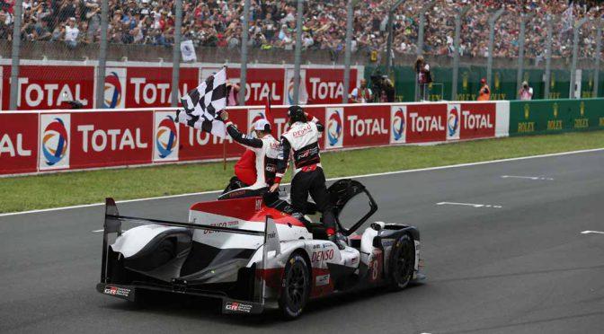 世界耐久選手権ル・マン24時間、トヨタの中嶋が悲願の初優勝