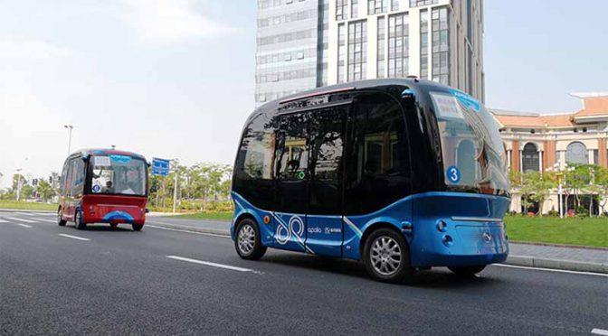 ソフトバンクと百度、日本の自動運転バス事業で協業へ