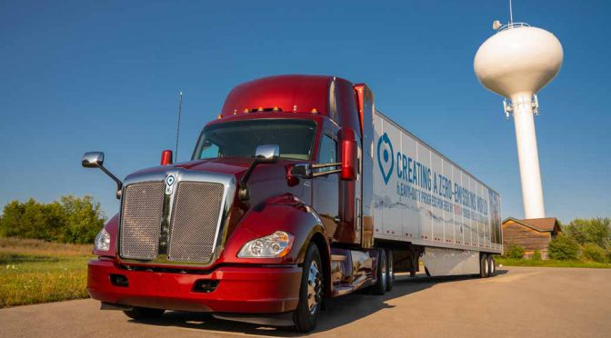 トヨタ自動車、米国でFC大型商用トラックの改良型を公開