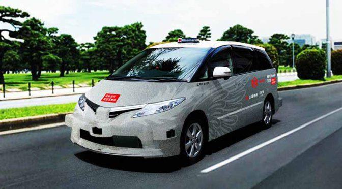 ZMPと日の丸交通、世界初の自動運転タクシー公道営業実証を開始