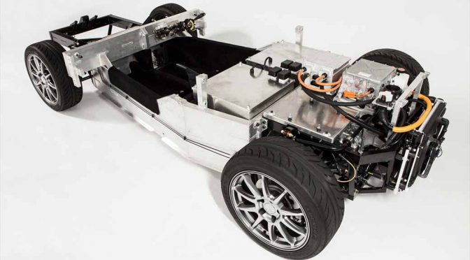GLMとオリックス、EVの研究開発用車台のレンタル開始