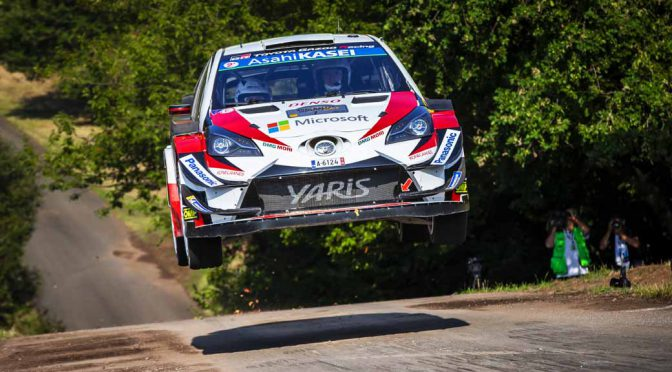 WRC第9戦ドイツ、北欧に続きトヨタ自動車が連続優勝