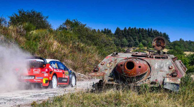 WRCドイツラウンドのシトロエンC3、運に恵まれず7位完走