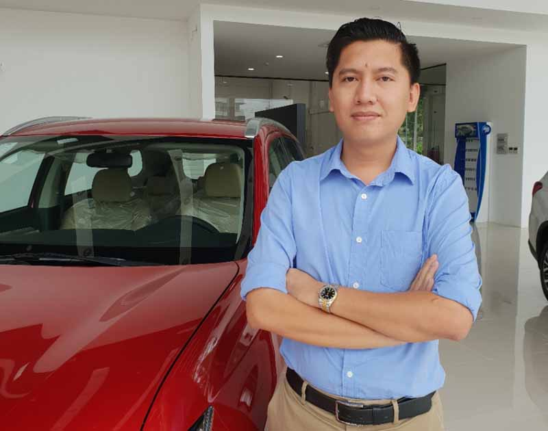 G-Stars Automobile LLC代表のニョック(Vi Nhat Ngoc)氏