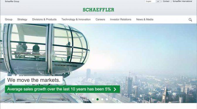 独・シェフラー、18上半期の売上は恒常通貨で5.8%増に