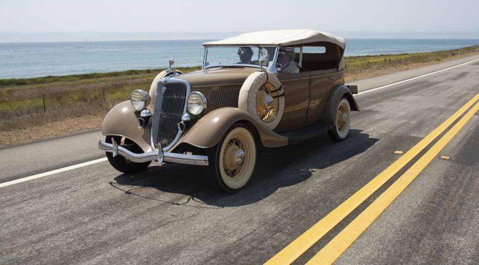 米・加州観光局、クラシックカーのドライビングイベントを実施