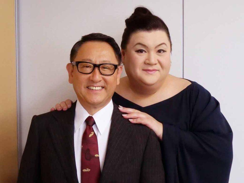 開催初日の、10月6日(土)には、マツコ・デラックスを迎えて豊田会長とのスペシャルトークショーも開催
