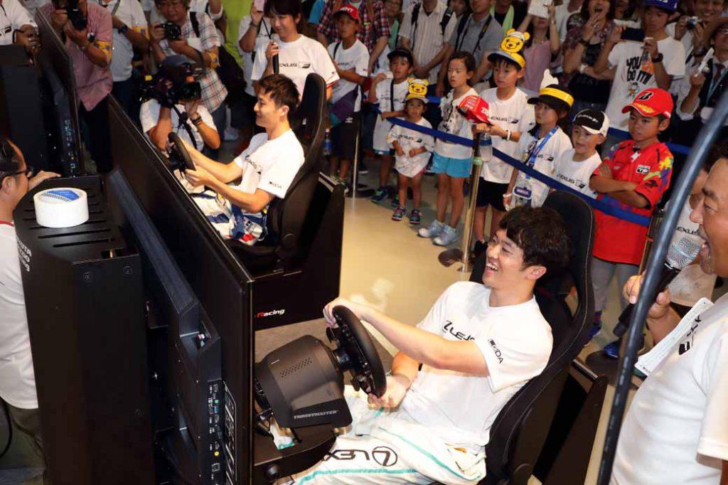 """リアルの世界と並行して、ゲームの世界の""""走り""""も東京モーターフェスで再現する"""