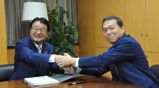 第4次安倍改造内閣の新国家公安委員長、交通事故抑止に意欲