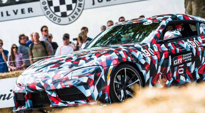 トヨタスープラ、北米国際自動車ショーで世界初披露へ
