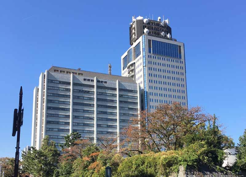静岡県警察本部が設置されている静岡県庁舎別館