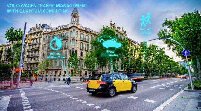 独フォルクスワーゲンAG、量子技術で交通管制のリーダーに