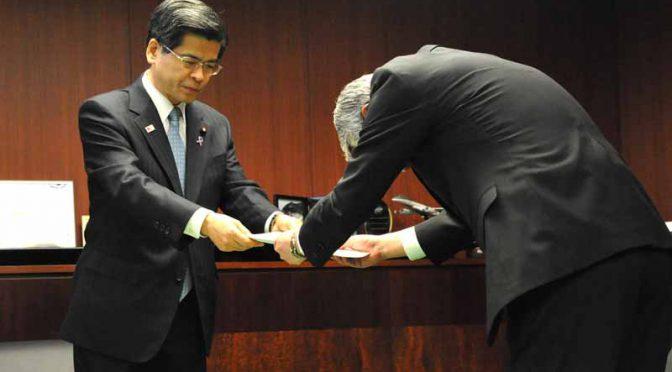石井国交相、完成検査不正でSUBARUに勧告書